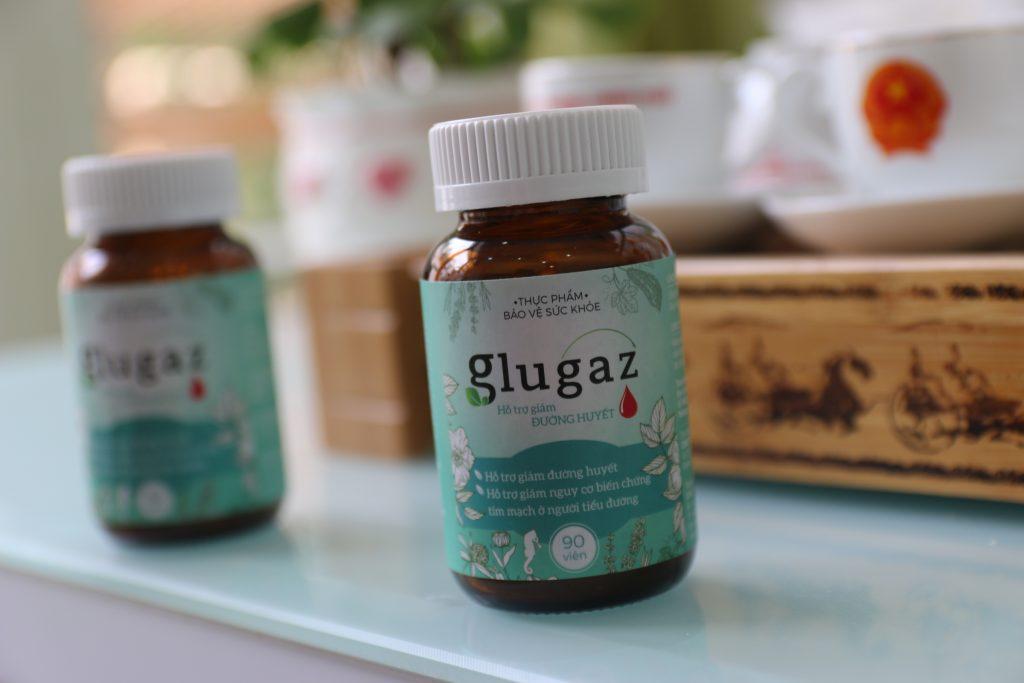 Viên hạ đường glugaz - sản phẩm hỗ trợ hạ đường huyết cho người bệnh tiểu đường