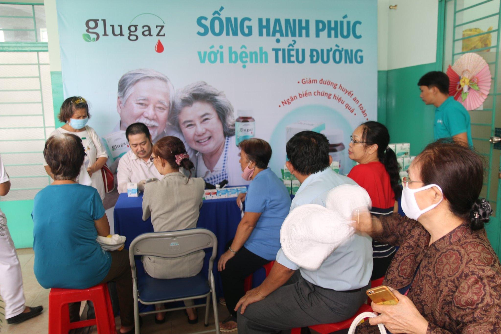 Dược phẩm Hebipha đồng hành tài trợ sinh hoạt Clb đái tháo đường tại Bệnh viện quận 8 TP.HCM